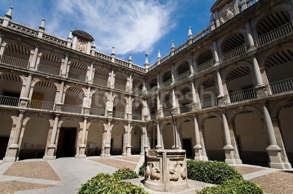 Alcala de Henares University. Madrid, Spain Stock photo © Photooiasson