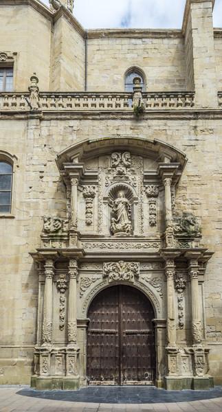Co-cathedral of Santa Maria de la Redonda of Logroño, Spain. Stock photo © Photooiasson