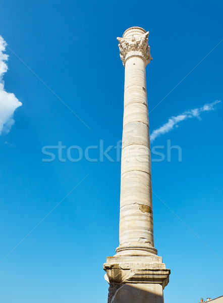 The Roman Columns monument. of Brindisi, Apulia, Italy. Stock photo © Photooiasson