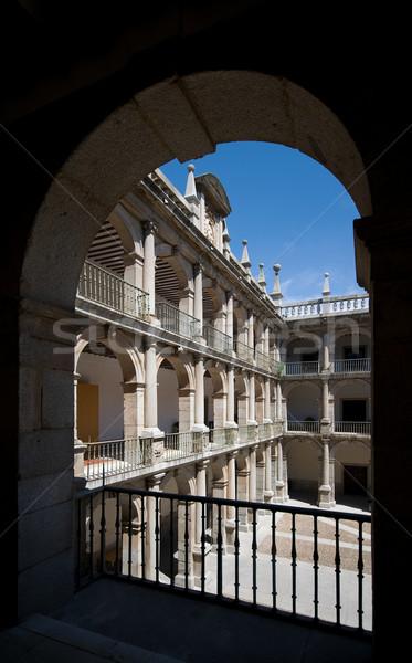 Stock fotó: Egyetem · Madrid · Spanyolország · stílus