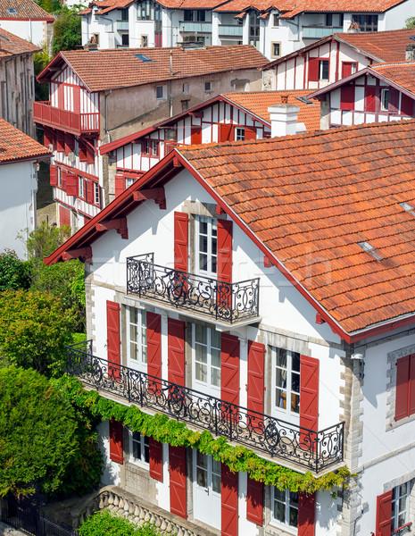 Gebouwen land typisch straat bouw muur Stockfoto © Photooiasson