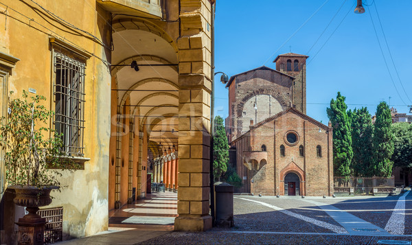 Basilica of Santo Stefano in Bologna. Emilia-Romagna. Italy. Stock photo © Photooiasson