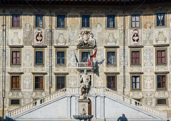 Palazzo della Carovana of Pisa, Italy Stock photo © Photooiasson