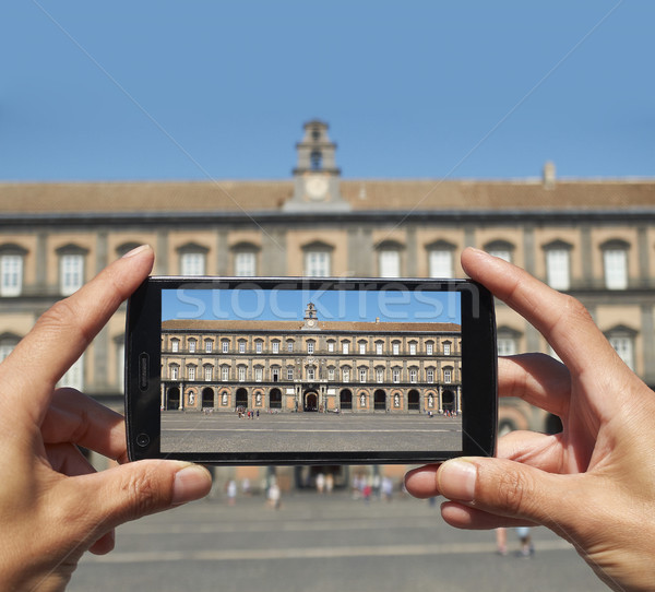 Palazzo Reale di Napoli, Campania, Italy. Stock photo © Photooiasson