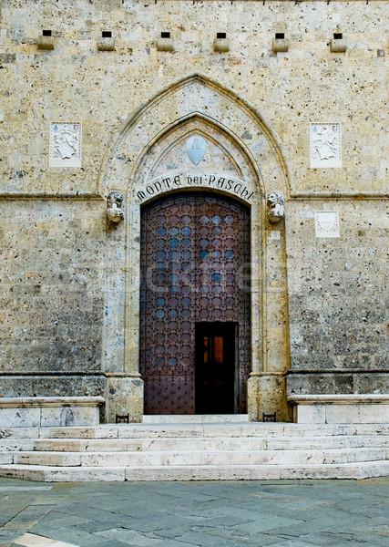 ドア イタリア 市 石 アーキテクチャ 歴史 ストックフォト © Photooiasson