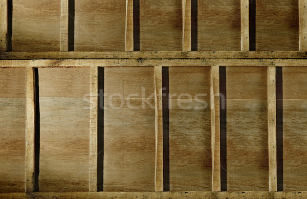 Fából készült fal textúra otthon háttér belső Stock fotó © Photooiasson