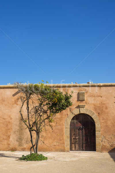 Semaphore Platform Udayas. Kasbah of the Udayas. Rabat, Morocco. Stock photo © Photooiasson
