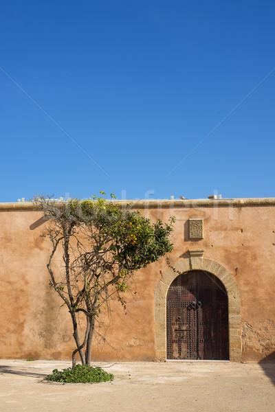 Марокко крепость север Африка фон Сток-фото © Photooiasson