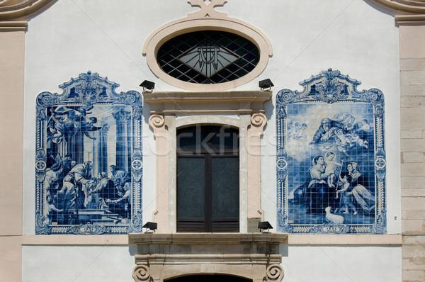 N. Sra. da Apresentacao Church. Aveiro, Portugal Stock photo © Photooiasson