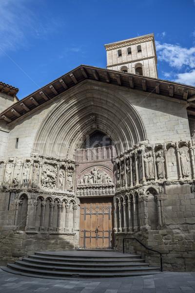 San Bartolome church in Logroño, Spain. Stock photo © Photooiasson
