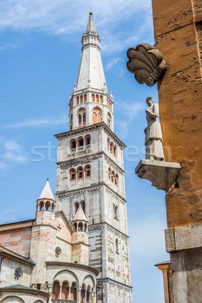 Cathedral of Santa Maria Assunta e San Geminiano of Modena, in Emilia-Romagna. Italy. Stock photo © Photooiasson