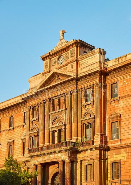 Palazzo degli Uffizi palace of Taranto, Apulia, Italy. Stock photo © Photooiasson