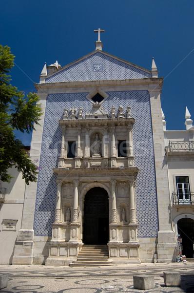 Igreja da Misericordia in Aveiro, Portugal Stock photo © Photooiasson