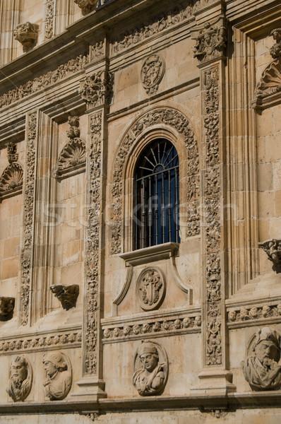 修道院 スペイン 病院 塔 スペイン語 バルコニー ストックフォト © Photooiasson