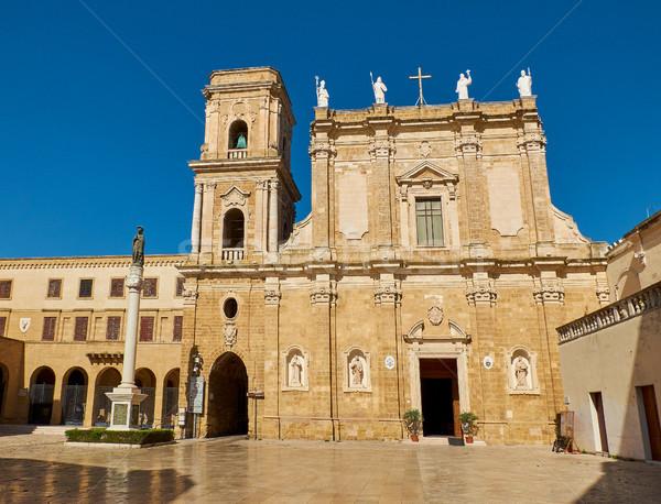 バシリカ 大聖堂 イタリア 市 教会 ストックフォト © Photooiasson