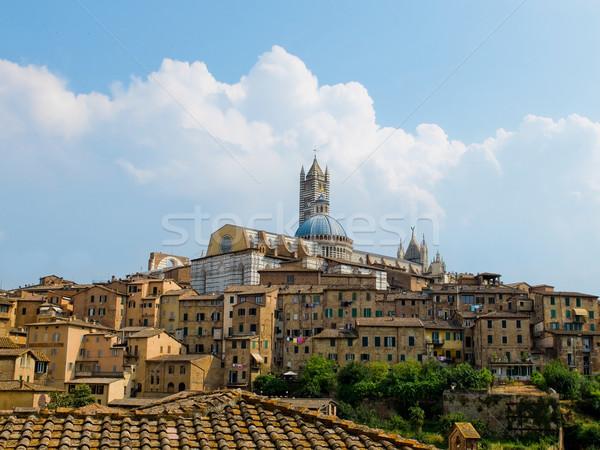 Siena view with the Duomo. Siena, Italy Stock photo © Photooiasson