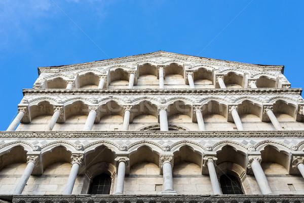 Saint Michele in Borgo church of Pisa. Tuscany, Italy. Stock photo © Photooiasson