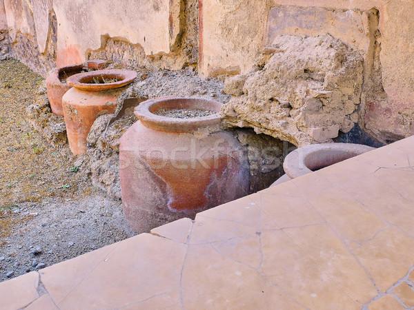 遺跡 古代 ローマ 市 イタリア 詳細 ストックフォト © Photooiasson
