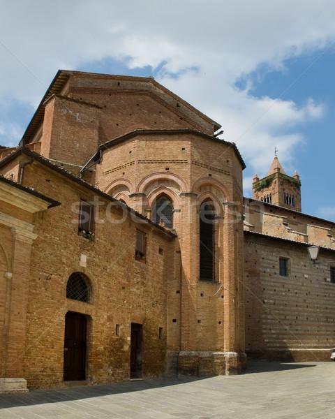 Apse in Basilica dei Servi. Siena, Italy Stock photo © Photooiasson