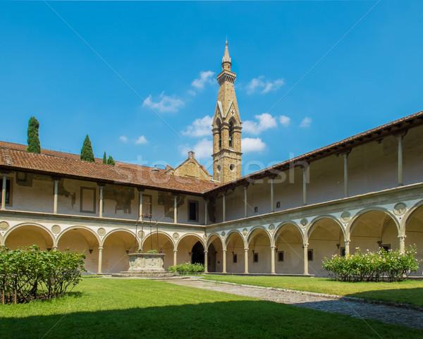 Basilica di Santa Croce. Florence, Italy Stock photo © Photooiasson