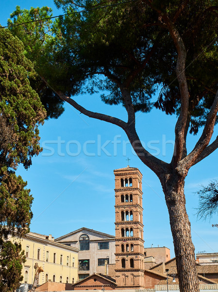 Basilique Rome Italie cloche tour Photo stock © Photooiasson