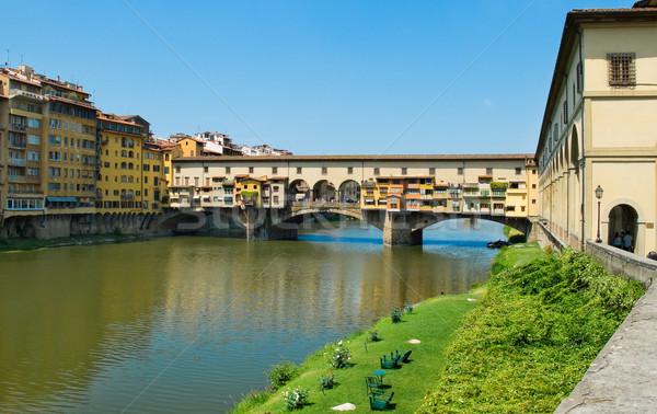 Ponte Vecchio in Florence, Italy Stock photo © Photooiasson