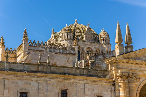 San Salvador Cathedral in Zamora, Castilla y Leon. Spain. Stock photo © Photooiasson