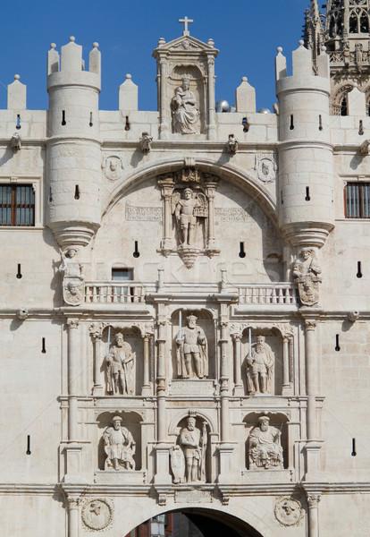 Arch of Santa Maria, Burgos. Spain  Stock photo © Photooiasson