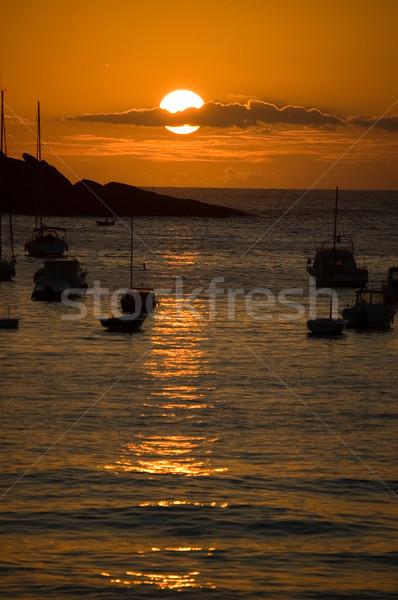 san sebastian - Concha bay Stock photo © Photooiasson