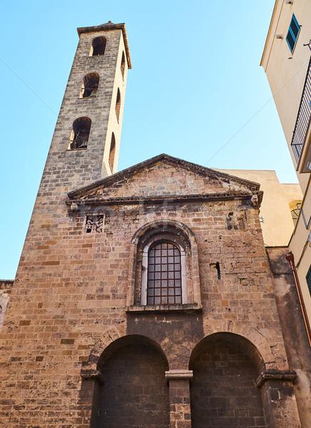 Bazilika katedrális Olaszország homlokzat város vallás Stock fotó © Photooiasson