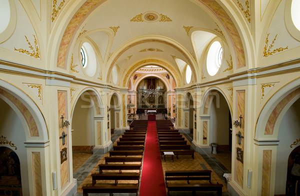 Inside of a Christian Church Stock photo © Photooiasson