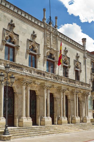 Palacio de la Capitania, Burgos. Spain Stock photo © Photooiasson