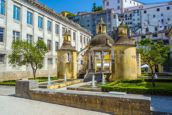 Jardim da Manga of Coimbra. Portugal. Stock photo © Photooiasson