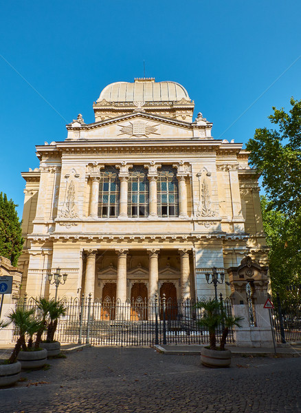 Tempio Maggiore di Roma, synagogue of Rome. Lazio, Italy. Stock photo © Photooiasson
