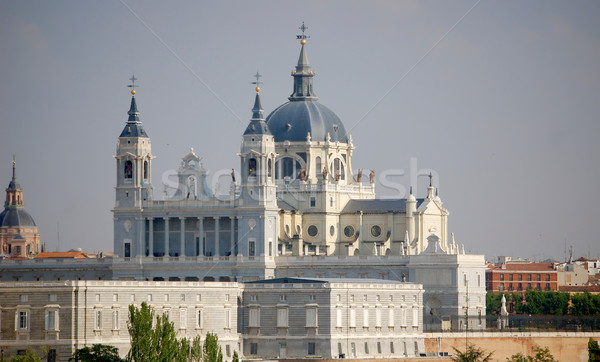 Catedral de la Almudena, Madrid Stock photo © Photooiasson