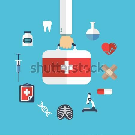 ストックフォト: 医療 · 研究 · 医療 · 薬 · 化学