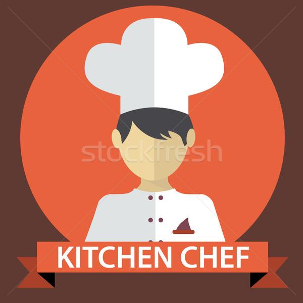 キッチン シェフ ボディ 脚 成功 脂肪 ストックフォト © Photoroyalty