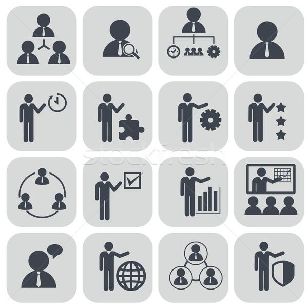 Humanismo recursos gestão empresário conferência Foto stock © Photoroyalty