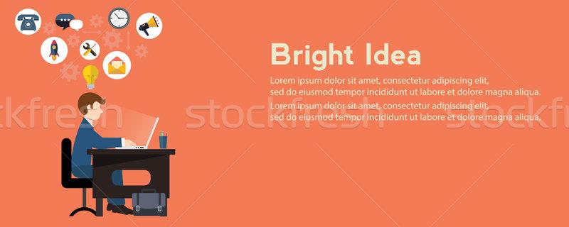 創造 アイデア ジェネレータ 明るい 現代 ウェブ ストックフォト © Photoroyalty