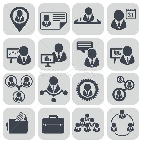Humanos recursos gestión empresario conferencia Foto stock © Photoroyalty