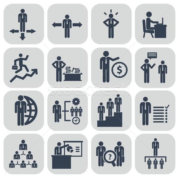 человека ресурсы управления бизнесмен конференции Сток-фото © Photoroyalty