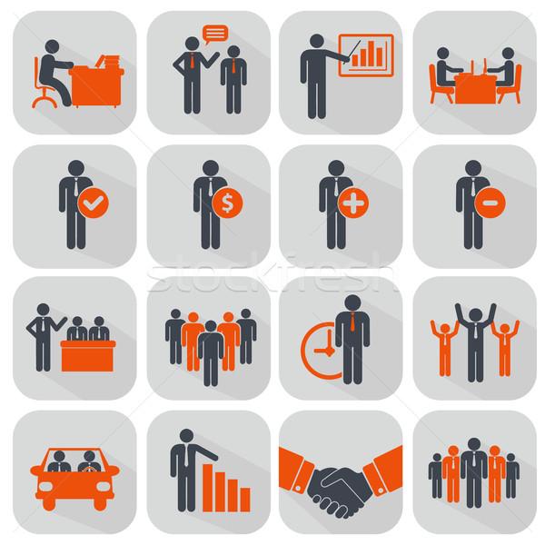 Ludzi zasoby zarządzania działalności biznesmen Zdjęcia stock © Photoroyalty