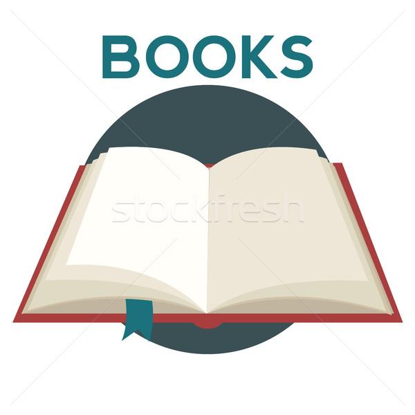 Book concept education background Stock photo © Photoroyalty