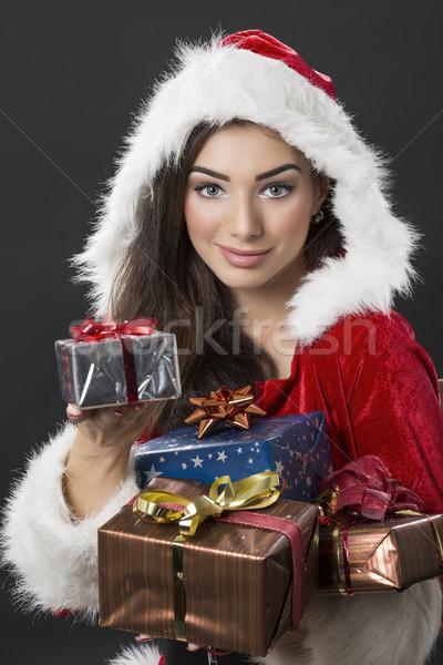 специальный Рождества красивой костюм Сток-фото © photosebia