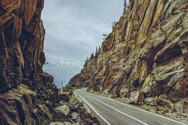 Spectacular Transfagarasan road, Romania Stock photo © photosebia