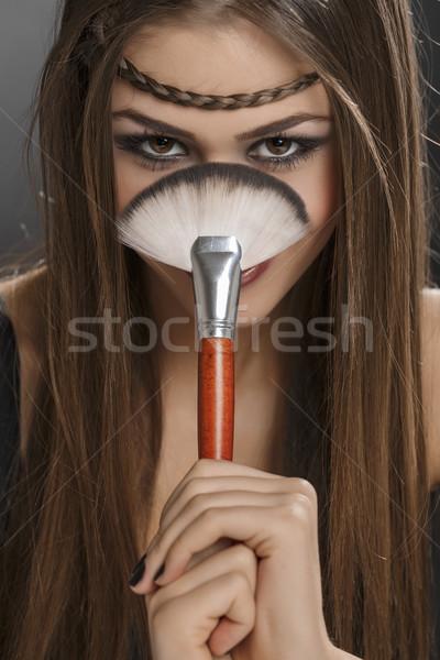 Best brush for makeup Stock photo © photosebia