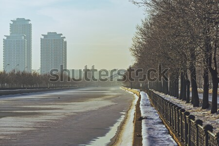Bucharest cityscape Stock photo © photosebia
