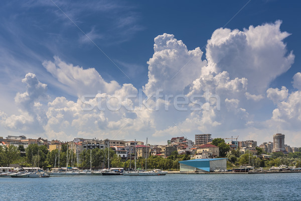 Tomis touristic port, Constanta, Romania Stock photo © photosebia