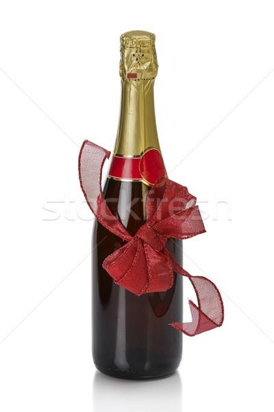 Annibersary champagne bottle Stock photo © photosebia