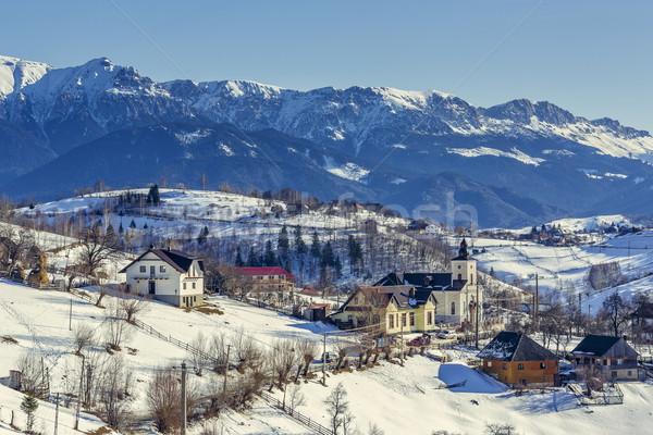 сельский горные декораций долин гор Сток-фото © photosebia